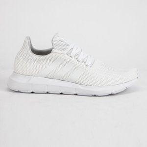 Brand new ADIDAS Swift Run White Shoes